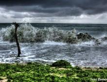 Furtună pe mare