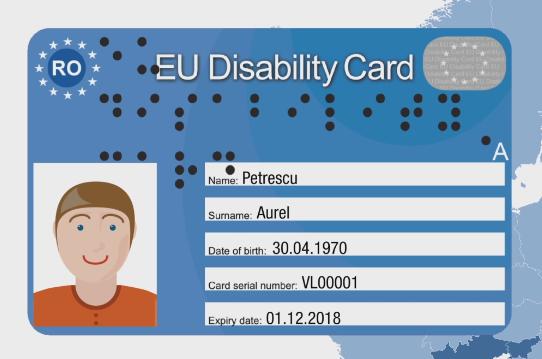 Persoanele cu dizabilități din sectorul 3 pot depune cererile în vederea obținerii Cardului European pentru Dizabilitate