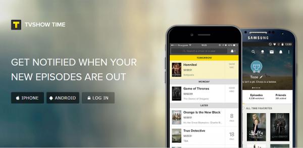 TVShow Time, o aplicație utilă pentru monitorizarea apariției serialelor tv