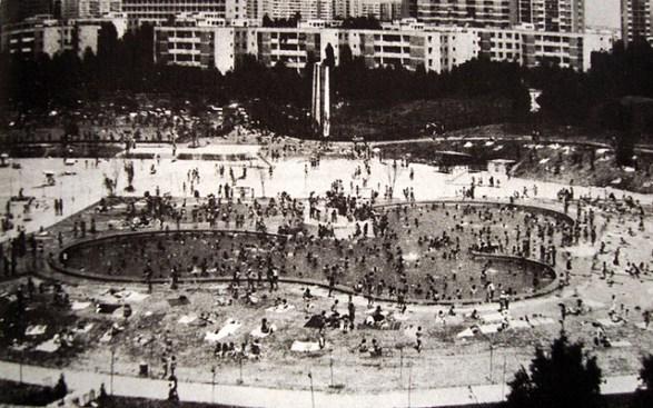 Strandul Titan in anii 70, sursa http://www.strandtitan.ro/