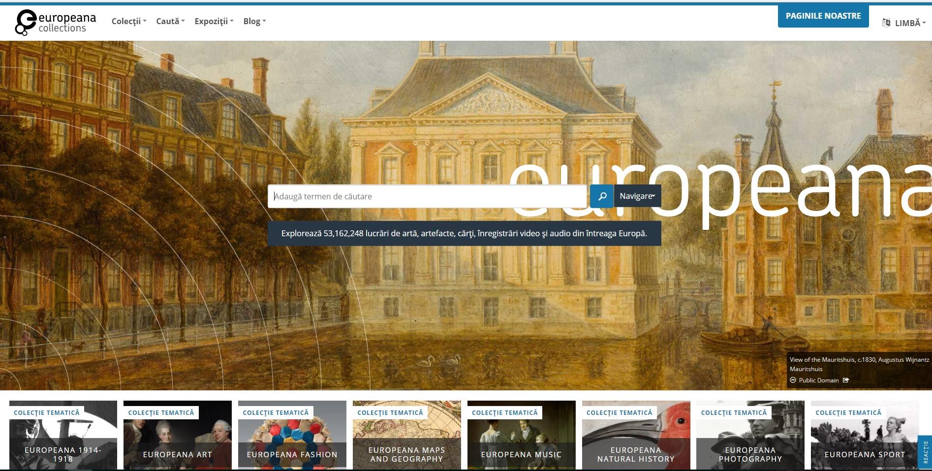 Platforma Europeana, dedicată conservării patrimoniului cultural